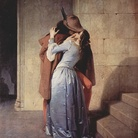 Francesco Hayez, Il Bacio, 1859, Olio su tela, 112 x 88 cm, Milano, Pinacoteca di Brera