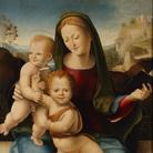 Alessandro Casolani, Santa Famiglia con San Giovannino e Santa Caterina d'Alessandria