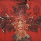 Tarik Berber, Dalla serie Seven Sisters, Iris, Olio su tela, 140 x 120 cm, Zadar, 2019 | Courtesy Tarik e Fondazione Maimeri 2019