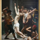 William-Adolphe Bouguereau, Flagellazione di Cristo, 1880, olio su tela, cm 310 x 213. La Rochelle, Musées d'art et d'histoire de la Rochelle, MAH.1881.1.1. Foto © J+M, La Rochelle
