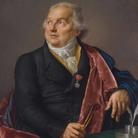 Jean-Baptiste Wicar, Ritratto di Giuseppe Valadier, 1827-1828, Olio su tela, 76 x 100 cm
