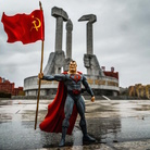 Enrico Pescantini. A Red Superhero in North  Korea