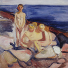 Edvard Munch, Bagnanti 1904-1905 olio su tela, 57,4 x 68,5 cm Collezione privata © Munch Museum © The Munch Museum / The Munch-Ellingsen Group by SIAE 2013