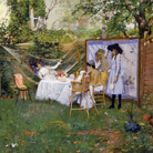 William Merritt Chase, The Open Air Breakfast, 1888, Toledo Museum of Art