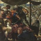 Tintoretto, Ratto di Elena, 1576 - 1577 circa, Olio su tela, 307 x 186 cm, Madrid, Museo Nacional del Prado