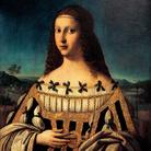 La Beata Beatrice II d'Este (1230 - 1262) ritratta da Bartolomeo Veneto con le fattezze di Lucrezia Borgia, 1510, Olio su tela, 75 x 56 cm, South Bend, Indiana, Snite Museum of Art