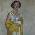 Felix Vallotton, Ritratto di signora con scialle giallo, 1909, Olio su tela, Aargauer Kunsthaus | Courtesy of Studio Esseci 2016