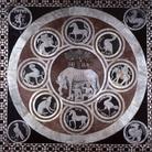 Particolare del Pavimento del Duomo di Siena: Lupa