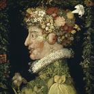 Giuseppe Arcimboldo, Primavera, 1573. Olio su tavola, cm 66,7x50,4. Real Academia de Bellas Artes de San Fernando, Madrid