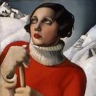 Tamara de Lempicka, Saint-Moritz, 1929, Olio su tavola, Orléans, Musée des Beaux-Arts | Courtesy of Musei San Domenico, Forlì, 2017