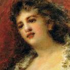 Daniele Ranzoni, La cantante Ravenè, Olio su tela, 72 x 58 cm, Collezione privata