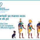 Visita virtuale al Museo Egizio a sostegno dell'oncologia pediatrica