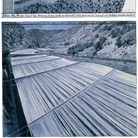 Christo, Over the River (Project for Arkansas River, State of Colorado), Collage 2010 in 2 parts: 12 x 30,5