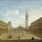 Pietro Bellotti, Veduta di piazza San Marco verso est, cm 64,3 x 81. Gloucestershire (Gran Bretagna), collezione privata