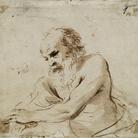 Giovanni Francesco Barbieri, detto il Guercino (Cento, 1591 - Bologna, 1666), Studio per Giacobbe, 1620, Inchiostro su carta, Cento, Pinacoteca Civica