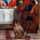 Paolo Veronese (1523 - 1588), Convito in casa Levi, 1573, Olio su tela, 5.55 x 12.8 m, Vnezia, Gallerie dell'Accademia
