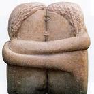 Costantin Brancusi, Il bacio, 1907, Pietra, 28 cm, Muzeul de Arta, Craiova