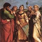 Raffaello Sanzio, Estasi di Santa Cecilia fra i Santi Paolo, Giovanni Evangelista, Agostino e Maria Maddalena, 1514
