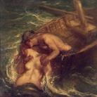 Charles Haslewood Shannon RA (1863 - 1937), Il pescatore e la sirena, 1901-1903