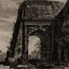 Giambattista Piranesi, Vedute di Roma, Arco di Tito, Acquaforte, 47.7 x 70.6 cm | Courtesy Musei Civici di Bassano del Grappa