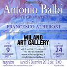 Antonio Balbi. Note cromatiche
