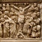 Il pulpito di Nicola Pisano torna a brillare dopo il restauro