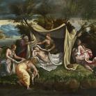 Giulio Romano e bottega, Nascita di Apollo e Diana, Windsor Castle, The Royal Collection