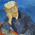 Vincent van Gogh, Ritratto del Dottor Paul Gachet, 1890, Olio su tela, 57 x 68 cm, Musée d'Orsay, Paris | L'opera fece parte della mostra organizzata a New York da Paul Rosenberg nel 1942, dopo essere stata confiscata allo Staedl Museum di Francoforte da Goering nel 1938, venduta a un banchiere tedesco e successivamente rimessa in vendita, per raggiungere cos' l'America all'inizio degli anni '40