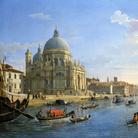 Gaspar Van Wittel, L'ingresso del Canal Grande con la chiesa della Salute, Olio su tela, 123 x 74 cm,Roma, Galleria Colonna