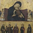 Giovanni da Rimini, Vergine col Bambino e cinque Santi, Probabilmente 1300-1305, Tempera all'uovo su pannello, 39 x 49 cm, Pinacoteca Comunale di Faenza | © IBACN / Emilia-Romagna