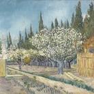 Vincent van Gogh, Frutteto delimitato da cipressi, Aprile 1888, Otterlo Museum