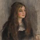 Pierre Auguste Renoir (1841 - 1919), Ritratto di Julie Manet, 1894, Olio su tela, 55 x 46 cm, Parigi, Musée Marmottan Monet, Lascito Annie Rouart, 1993 | © Christian Baraja SLB