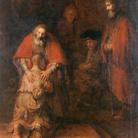 Rembrandt Harmenszoon van Rijn (1606 - 1669), Il Ritorno del Figliol Prodigo, 1668 circa, Olio su tela, 205 x 262 cm, Museo Statale Ermitage, San Pietroburgo