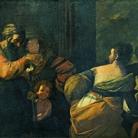 Museo di Palazzo Pretorio, Mattia Preti, Ripudio di Agar, 1635-1640 circa, Olio su tela, 280 x 185 cm