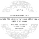 Exhibition for nominated young artists in Asia. First stop: Milan