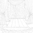 Alvise Bittente, dietro le quinte, Illustrazione per il libro Teatri d'amore, Capitolo