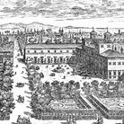 Villa Medici, Roma, Prospettiva del giardino del Serenissimo Gran Duca di Toscana sul Monte Pincio, da un'incisione di Giovanni Battista Falda | © Wikimedia Commons
