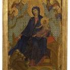 Madonna col Bambino e tre francescani in adorazion