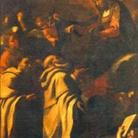 La Vergine consegna lo scapolare a San Simone Stock