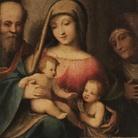 Prestiti dalla Pinacoteca Malaspina - Sacra Famiglia di Correggio / Velo della Veronica di Giambono