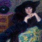 Lionne (Enrico Della Leonessa), Violette, 1913, Olio su tela, Roma, Galleria d'Arte Moderna | Courtesy of Galleria d'Arte Moderna, Roma