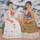 Frida Kahlo, Le due Frida, 1939, Colore a olio, 173 x 173 cm, Museo De Arte Moderno,Città del Messico | © Banco de México Diego Rivera & Frida Kahlo Museums Trust, México D.F. | Courtesy of NAVIGARE Srl 2019