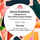 Irene Barberis. A Response to Sol LeWitt's Italian Studios