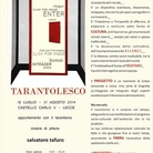 Salvatore Tafuro. Tarantolesco