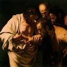 Caravaggio, Incredulità di san Tommaso, 1600-160, Olio su tela, 107 x 146 cm, Potsdam, Bildergalerie