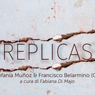 Estefanía Muñoz e Francisco Berlarmino. Réplicas