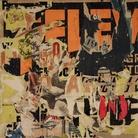 Gallerie d'Italia | Mimmo Rotella, Mitologia in nero e rosso, 1962, Décollage su tela, Collezione Intesa Sanpaolo