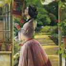 Walter Howell Deverell (1827-1854), Un animale domestico, 1853, Olio su tela, 81.6 x 117.5 cm, Tate, Purchased 1911 | © Tate, London 2019