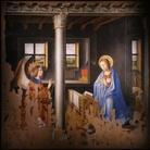 Antonello da Messina, Annunciazione, 1474. Olio su tavola trasportata su tela, cm 180 x 180. Provenienza: Palazzolo Acreide (SR), Chiesa dell'Annunziata. Siracusa, Galleria Regionale di Palazzo Bellomo