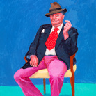 A Venezia i brillanti ritratti di David Hockney